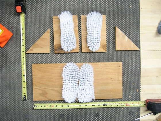 Чистилки для обуви своими руками