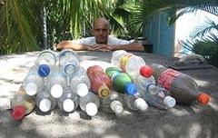 Как построить дом из пластиковых бутылок своими руками