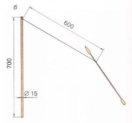 Как сделать так чтобы стрела летела прямо
