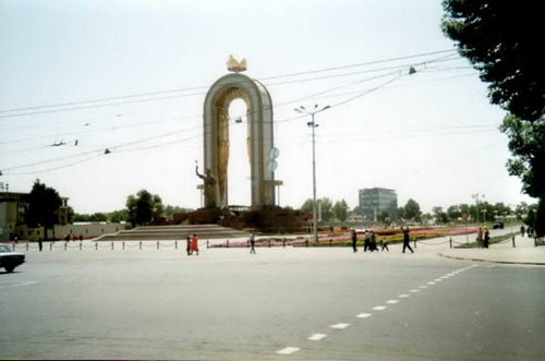 Лето в Душанбе