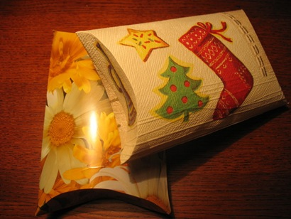 Упаковка для подарков в стиле handmade