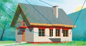 По каким признакам можно определить проект теплого дома?