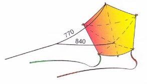 Воздушный змей «Пятиугольник»